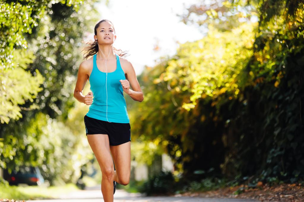 Bieg wpływa na zdrowie kości u kobiet